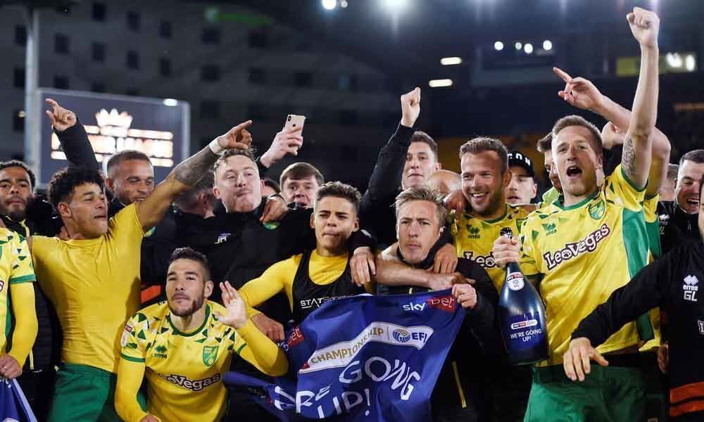Soccer: Norwich seal promotion to Premier League with win over Blackburn