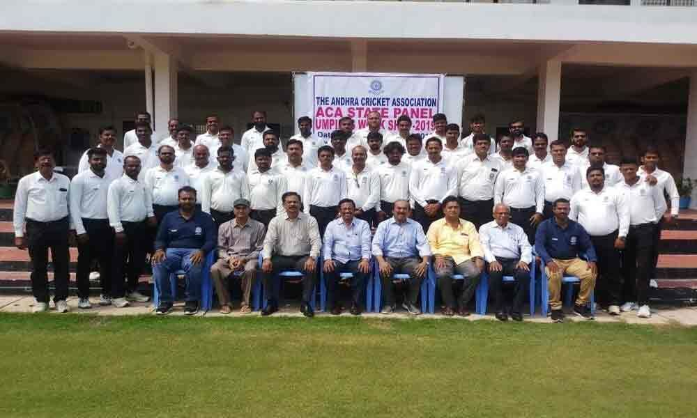 Two-day workshop for umpires conclude