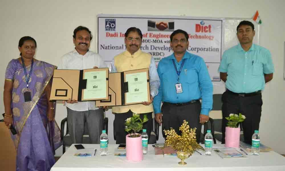DIET inks pact with NRDC