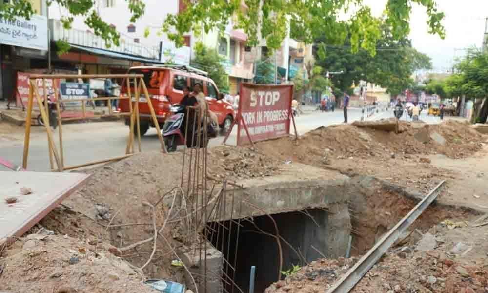 Lack of coordination creates hurdle for RUB works in Tirupati