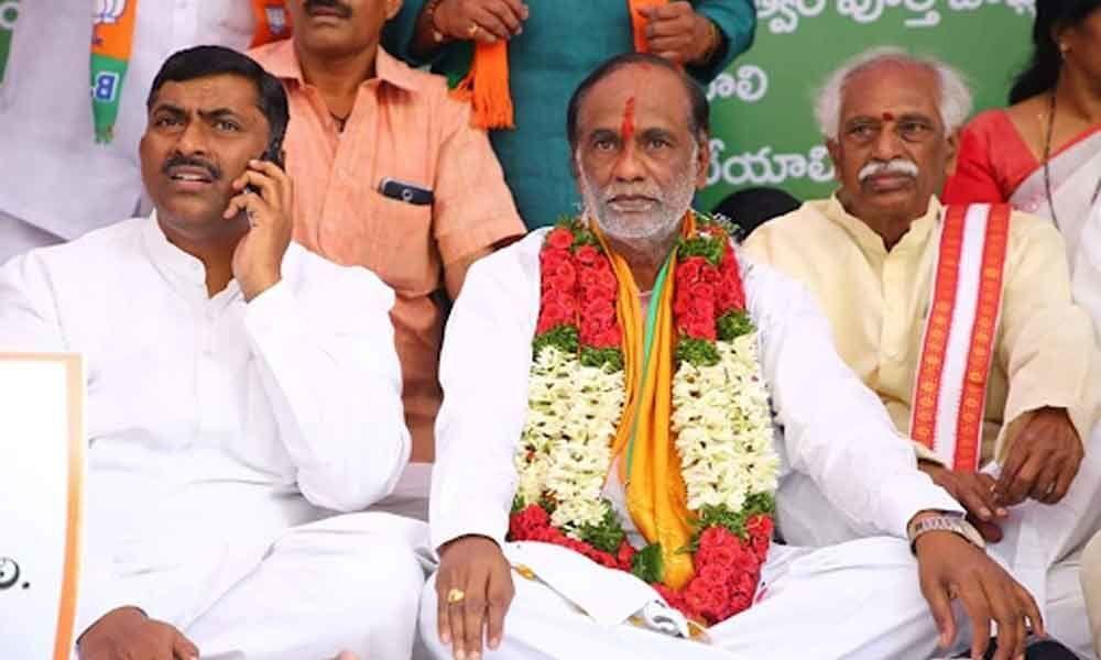 BJPs Lakshman launched indefinite hunger strike demanding justice to inter students