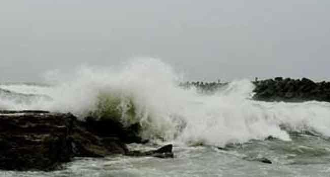 Cyclone Fani effect in Nellore district