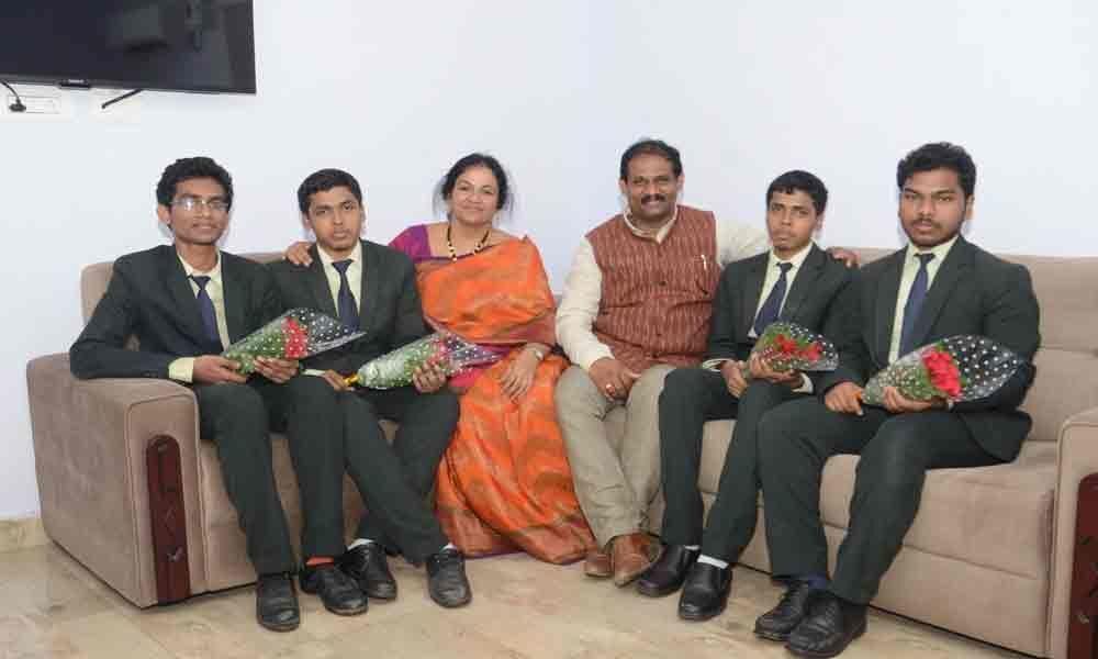 Sri Shirdi Sai students shine in JEE Mains results