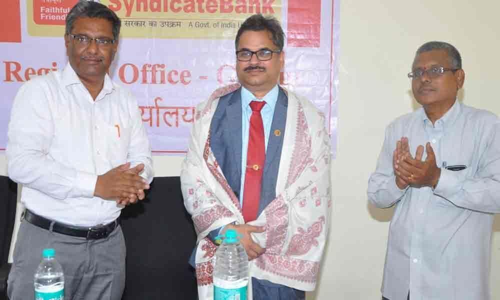 Syndicate Bank Regional Office opened in Guntur