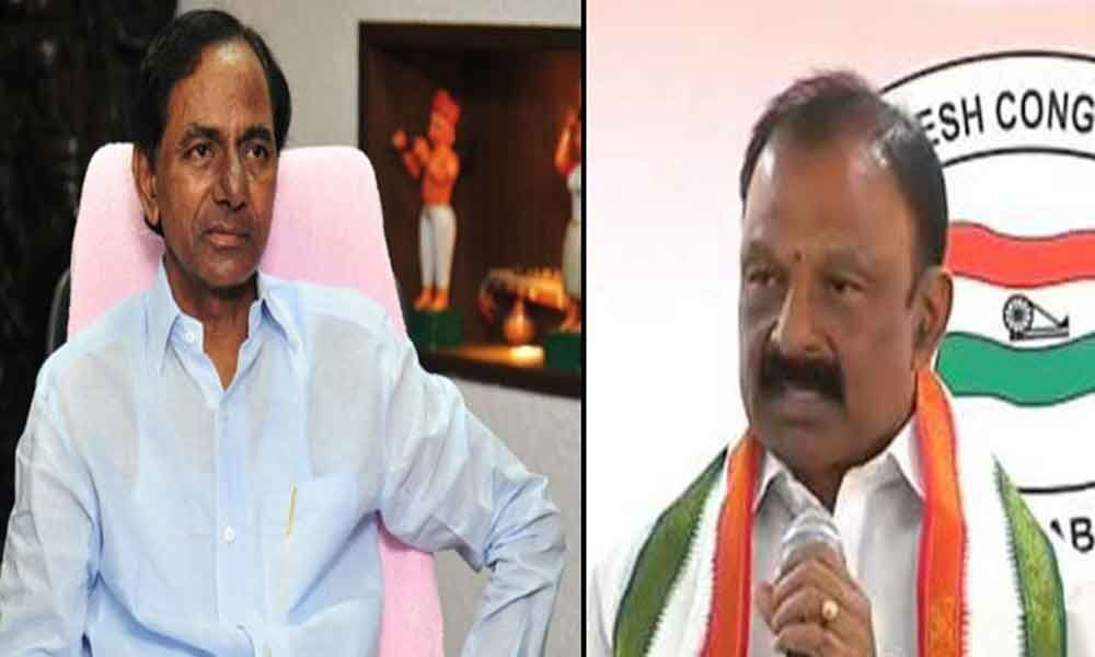 APCC chief Raghu Veera Reddy writes letter to CM KCR over supporting Congress party