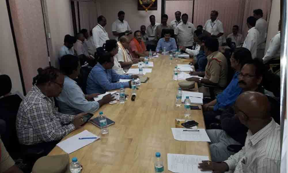 MEGA CELESTIAL FETE Arrangements for Satyanarayana  Swamy Kalayanam reviewed