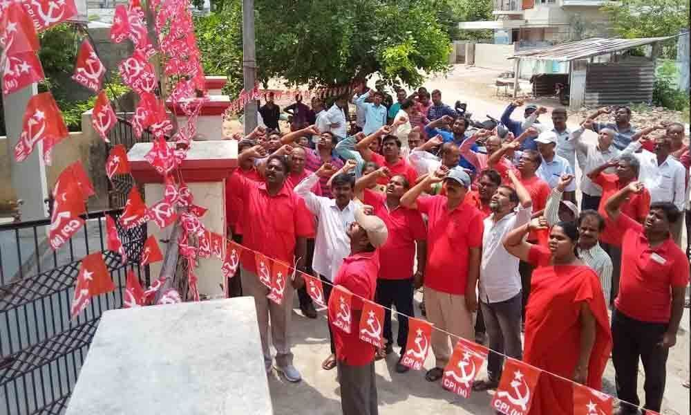May Day celebrations held on grand note in Kothagudem