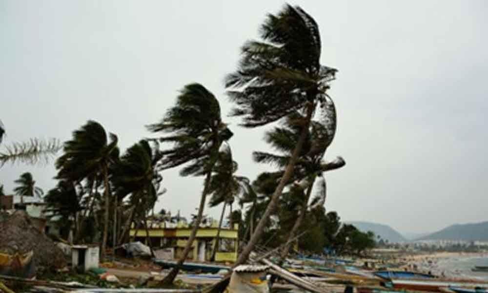 Cyclone Fani effect in Visakhapatnam