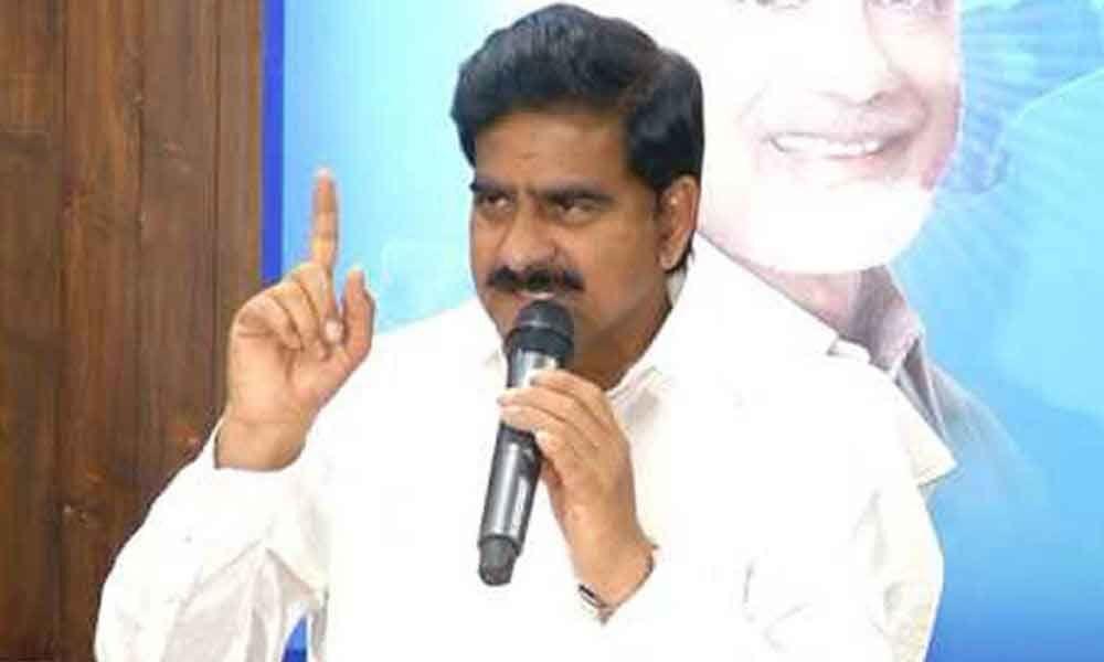 Minister Devineni Uma slams YSRCP in Vijayawada
