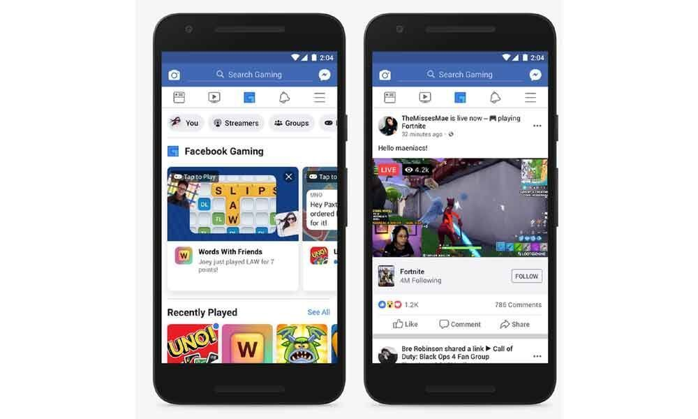 Facebook adds new features to its Instant Games tab