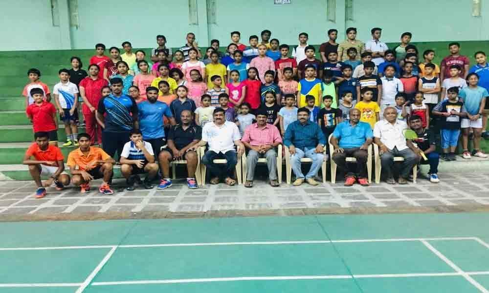 Badminton coaching camp launched