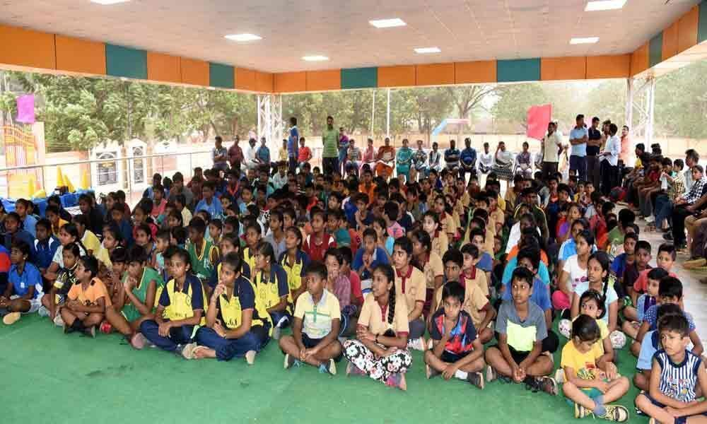 Month-long sports camp inaugurated