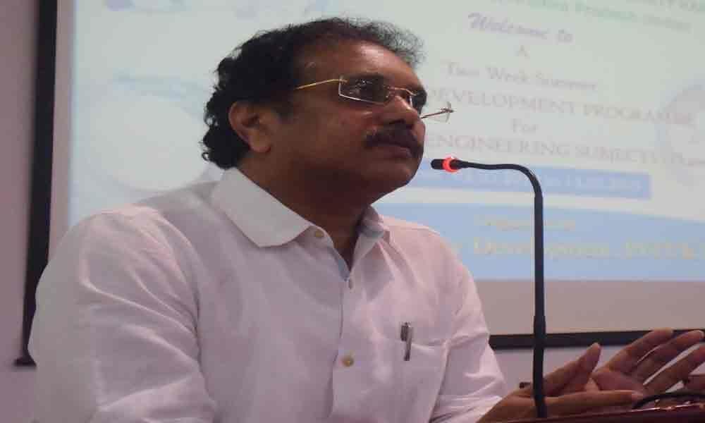 Workshop on important engineering subjects begins in JNTU Kakinada