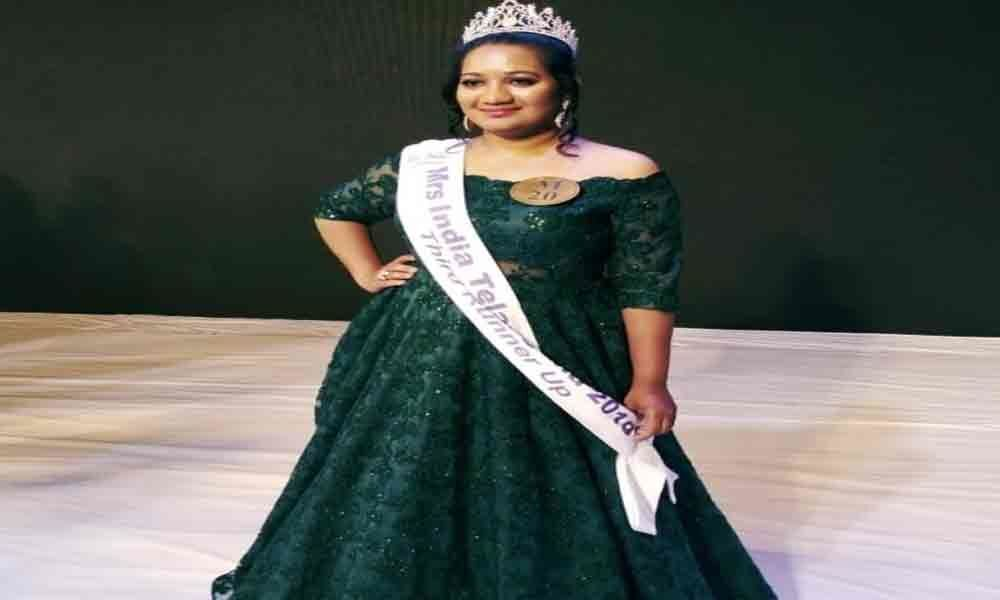 City woman shines in beauty contest