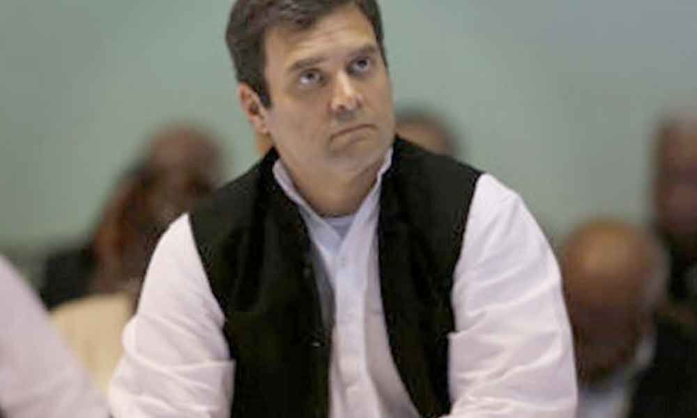 Rahul Gandhis citizenship issue : Nurse comes to his rescue