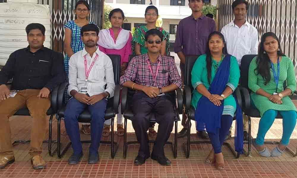 PVKKIT engg students secure jobs in IBM
