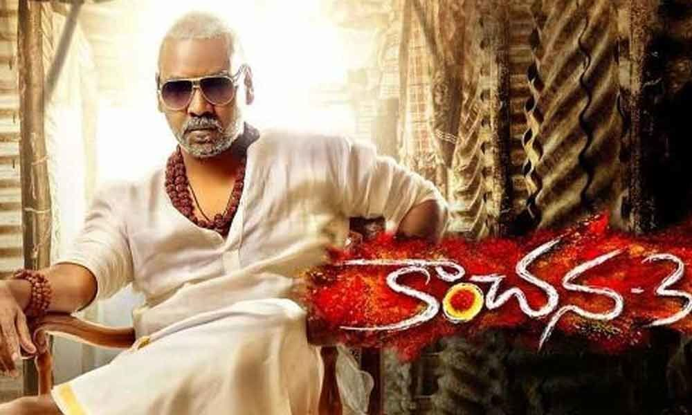 Kanchana 3 area-wise latest box office collections report