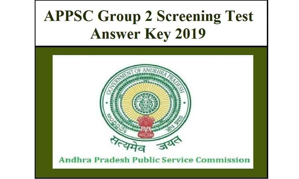 APPSC Group II screening test 2019 answer key to release soon