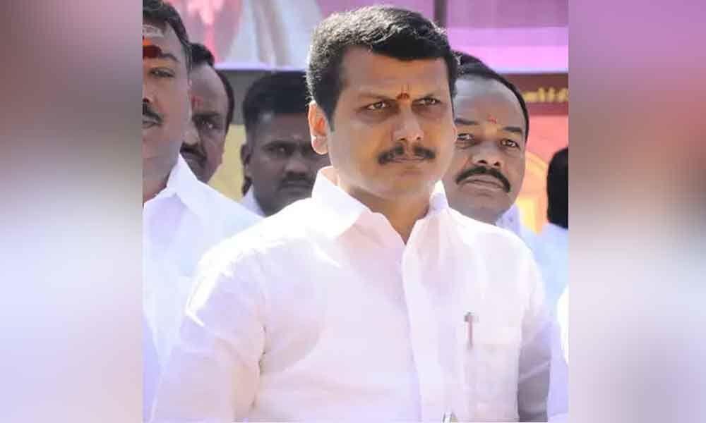 EPS takes upon DMK candidate V Senthil Balaji
