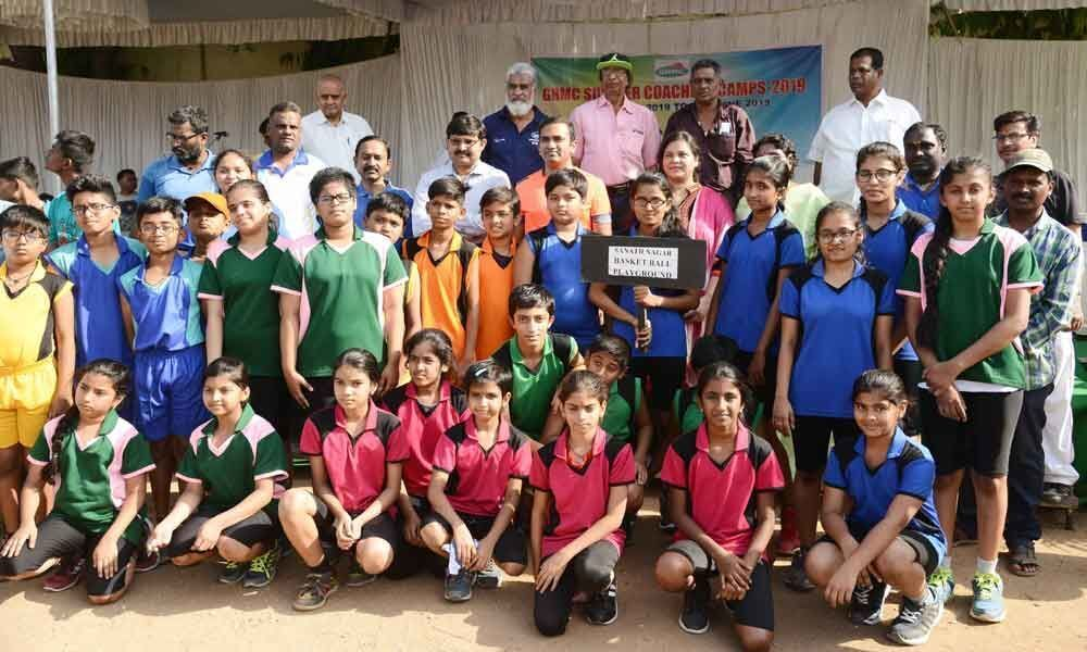 GHMC summer camps kick off in 45 categories