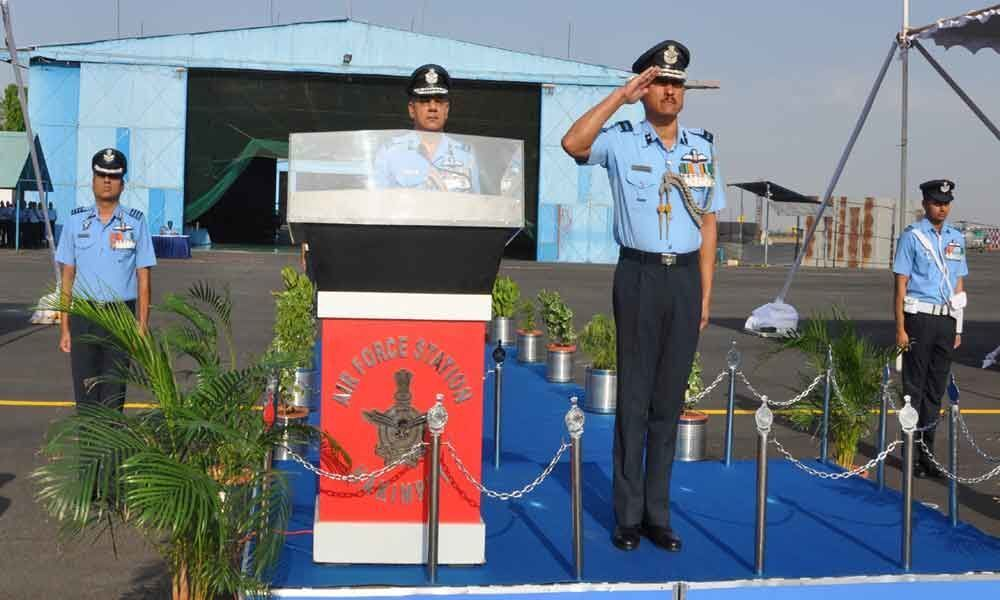 New Air Officer Commanding takes charge at Air Force Station