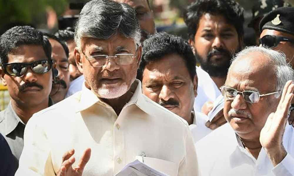 VVPAT slip counting: TDP chief Chandrababu Naidu to attend the hearing in Supreme Court