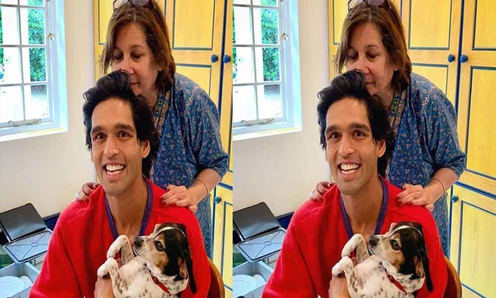 Sid Mallya shares an adorable picture with mom on his 32nd birthday today