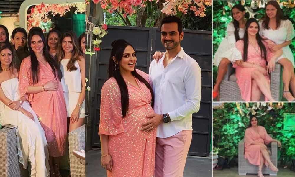 Esha Deol And Bharat Takhtani Hosts A Baby Shower