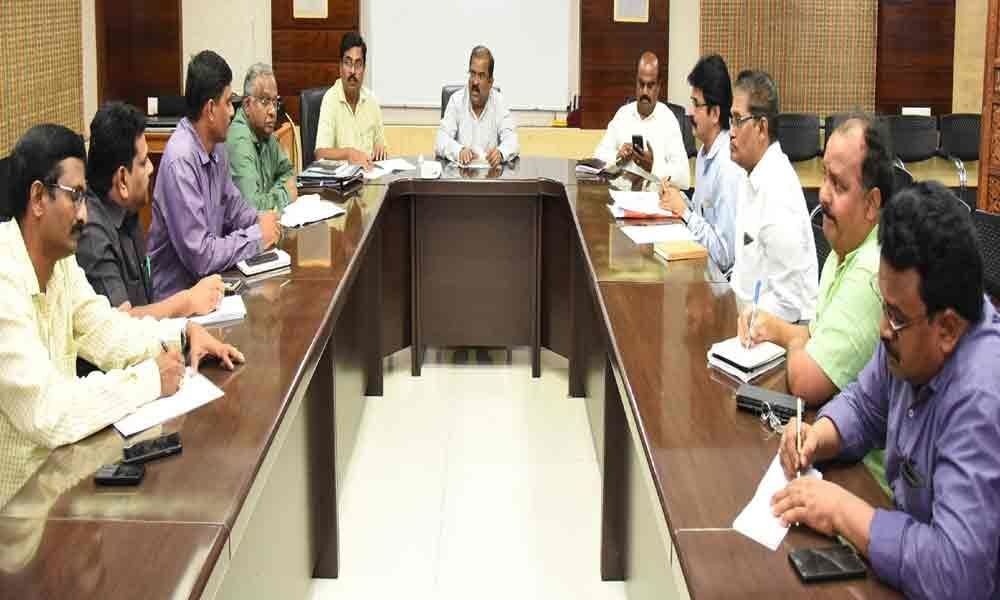 Collector holds review meeting