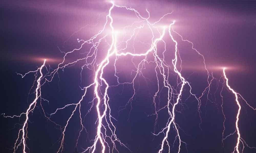 RTGS issue Thunderstorm alert in Andhra Pradesh