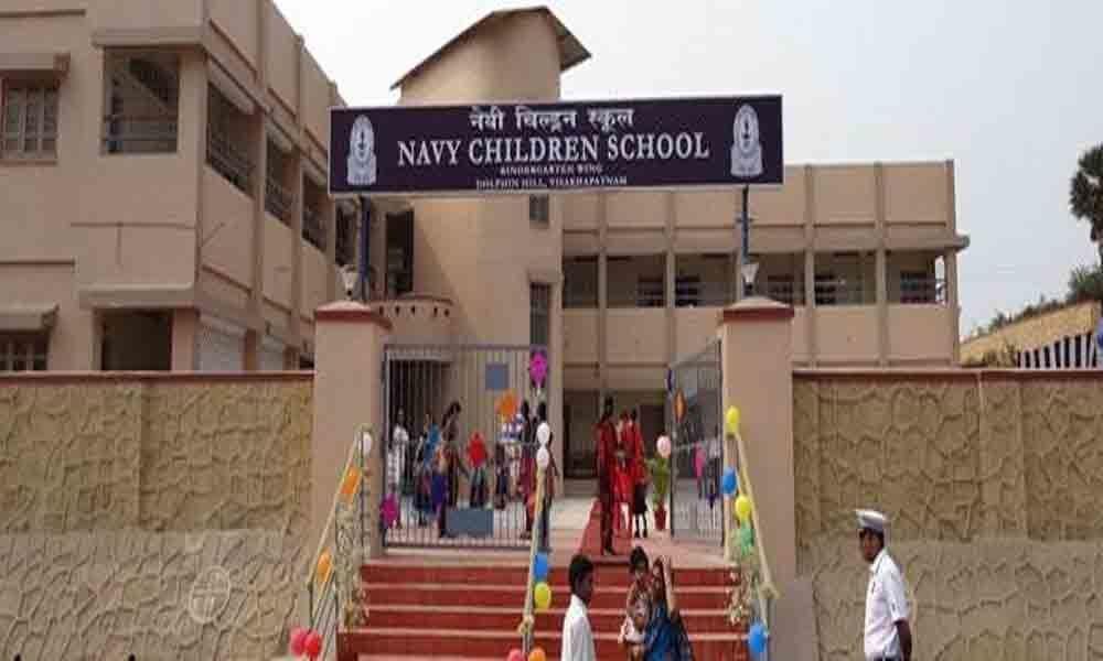 Visakhapatnam: Navy Children School excels in Class X & XII CBSE board exams