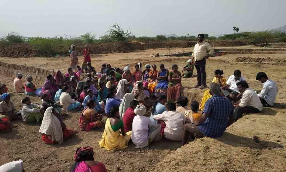 Heat takes toll on NREGS workers in Tirupati