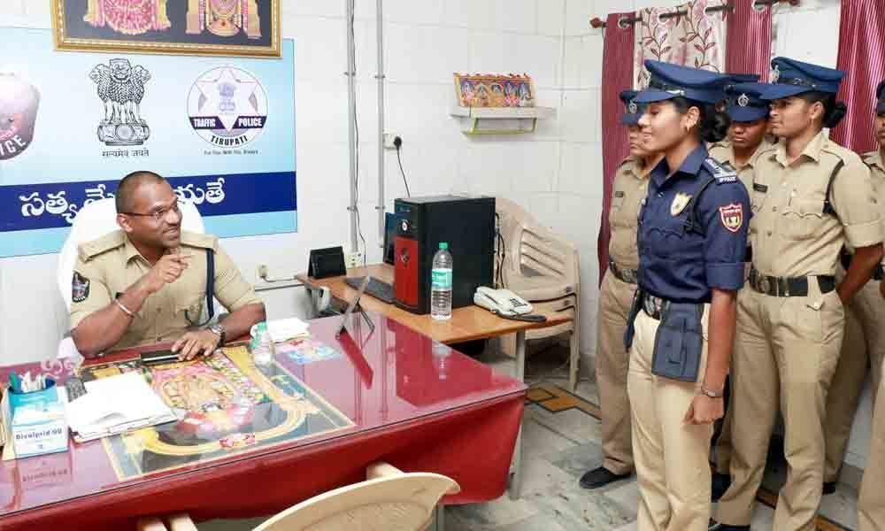 New dress code for Shakthi teams soon in Tirupati