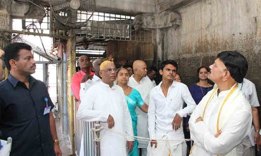 Better services to pilgrims with PWFS: JEO B Lakshmikantham.