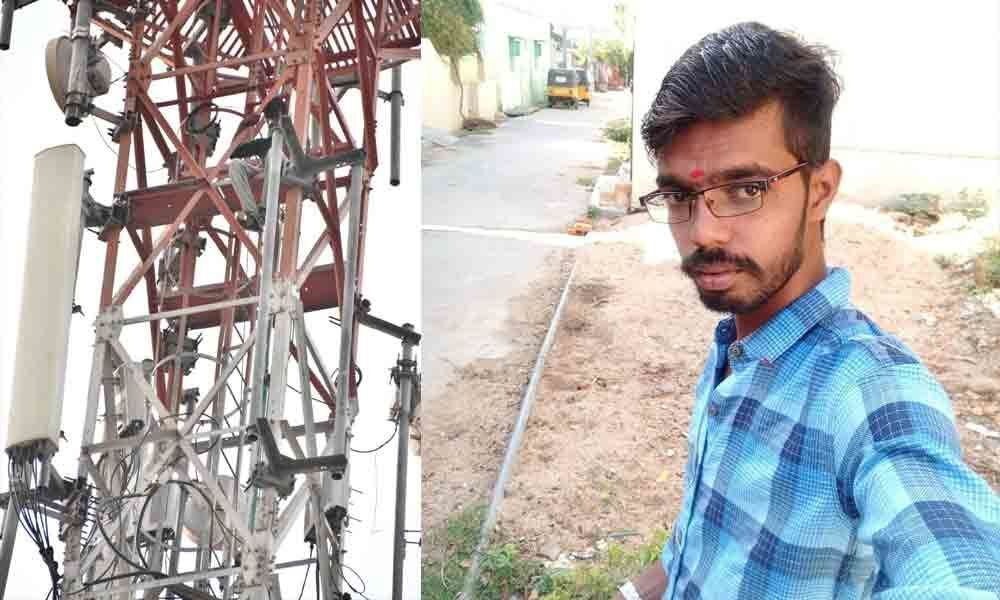Youngster climbs cell tower seeking marriage with lover