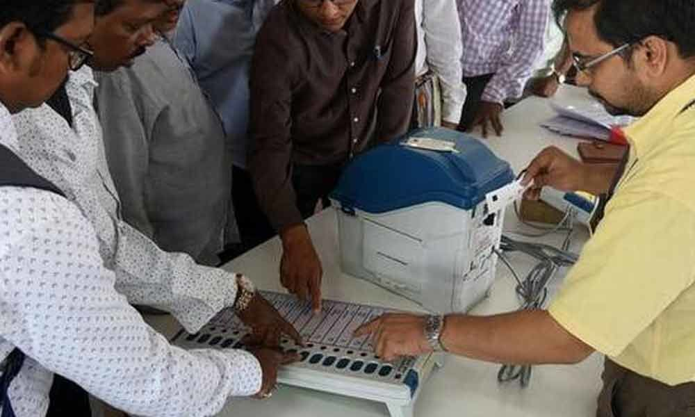 ECI team to train ROs on counting of EVMs