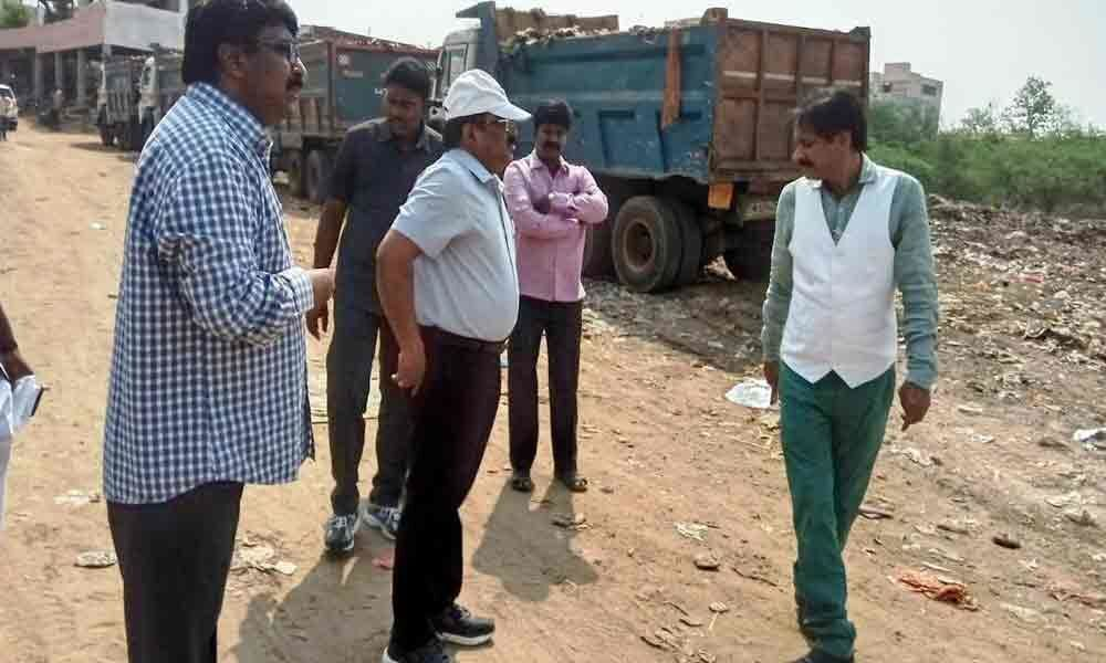 Cleaning works at Krishna river inspected