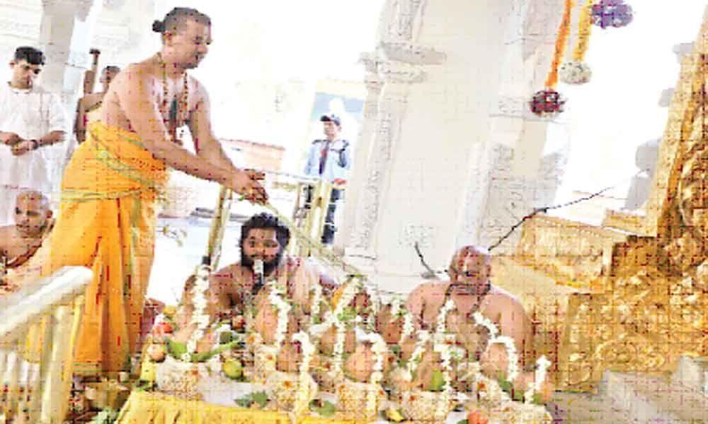 Brahmotsavam begins at Golden Temple
