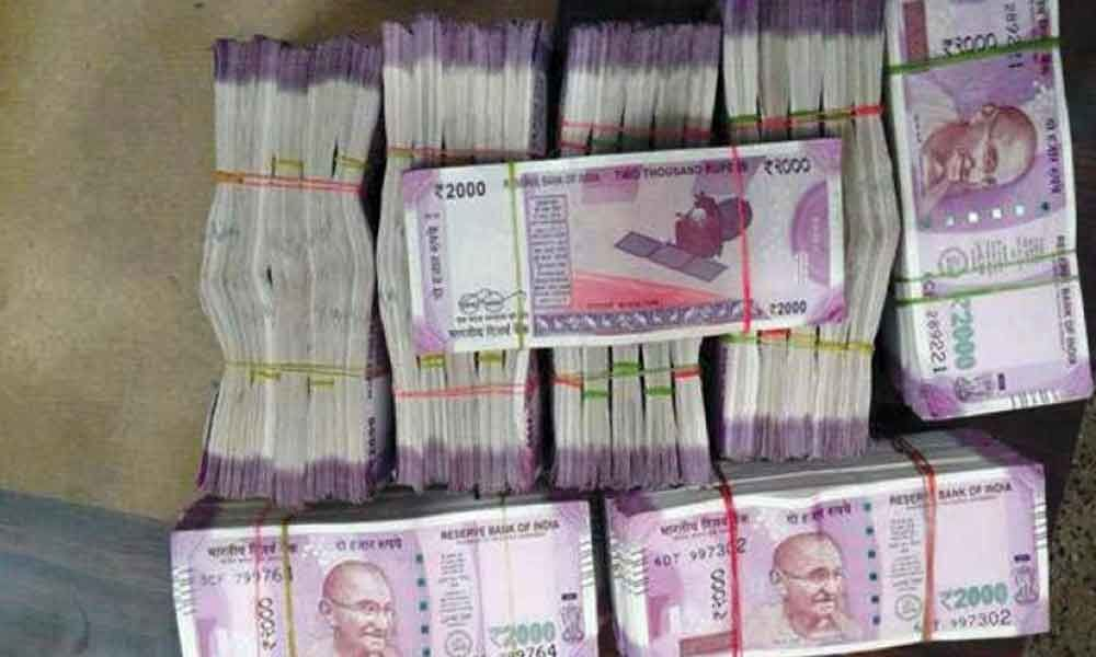 Cash seized from BJP candidate Bharati Ghosh