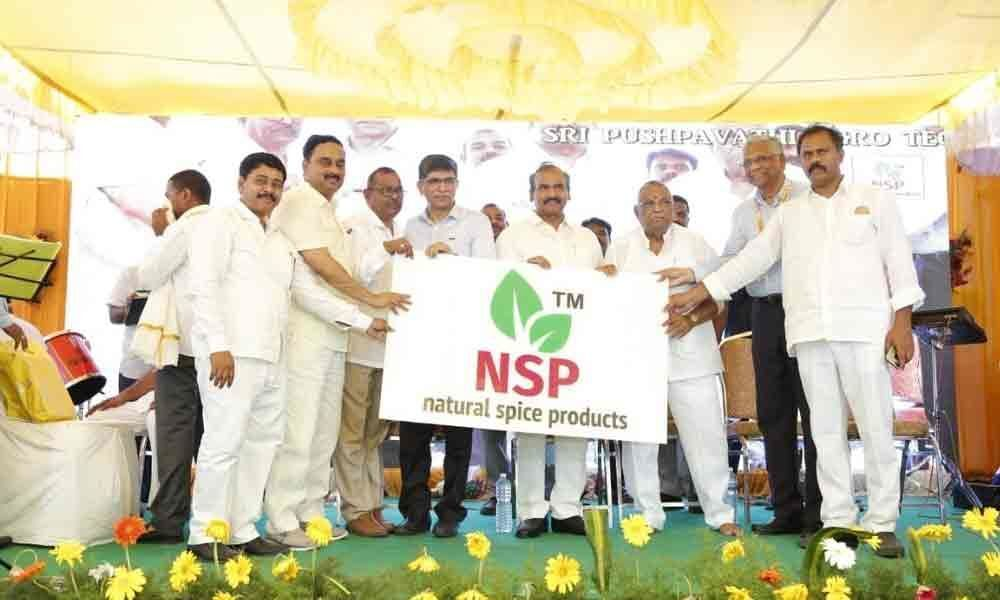 Minister launches NSP products