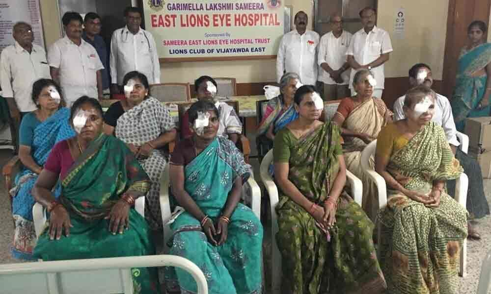 Lions Club holds free eye camp