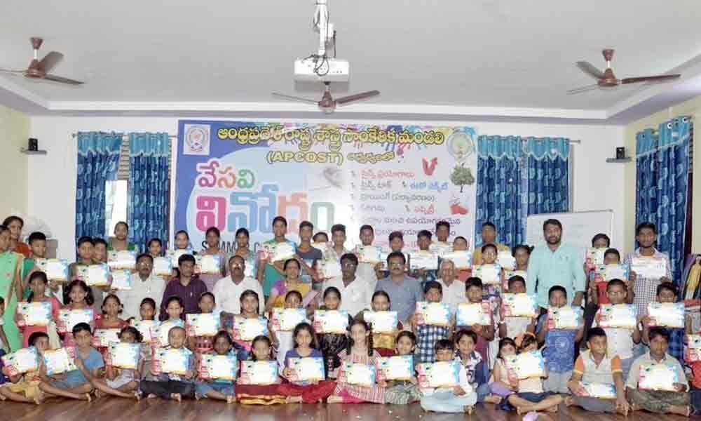 APCOST summer camp concludes