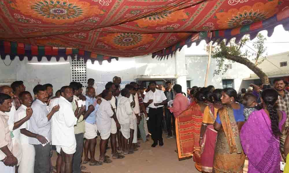 Palamuru districts record 75% voting