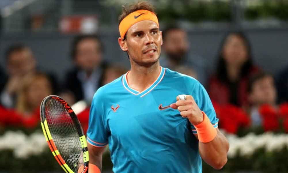 Nadal enters semi-finals of Madrid Open, Thiem knocks out Federer