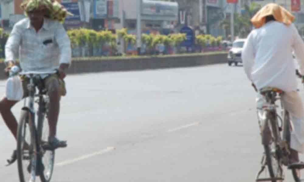 Heatwave conditions prevail in Chittoor, Prakasam dists