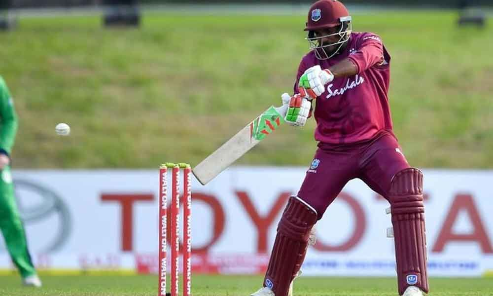 Ambris ton helps Windies make record chase against Ireland