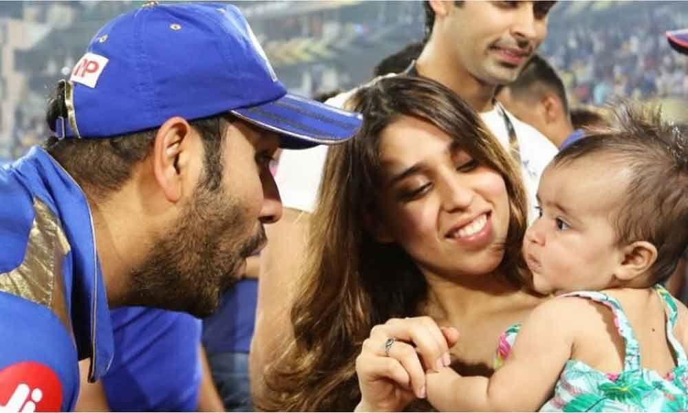 Watch: Rohit Sharma celebrates IPL title with daughter Samaira