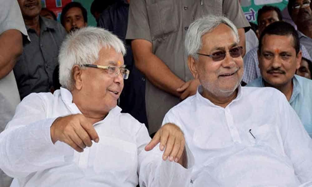 Lalu Prasad writes to Nitish Kumar: It