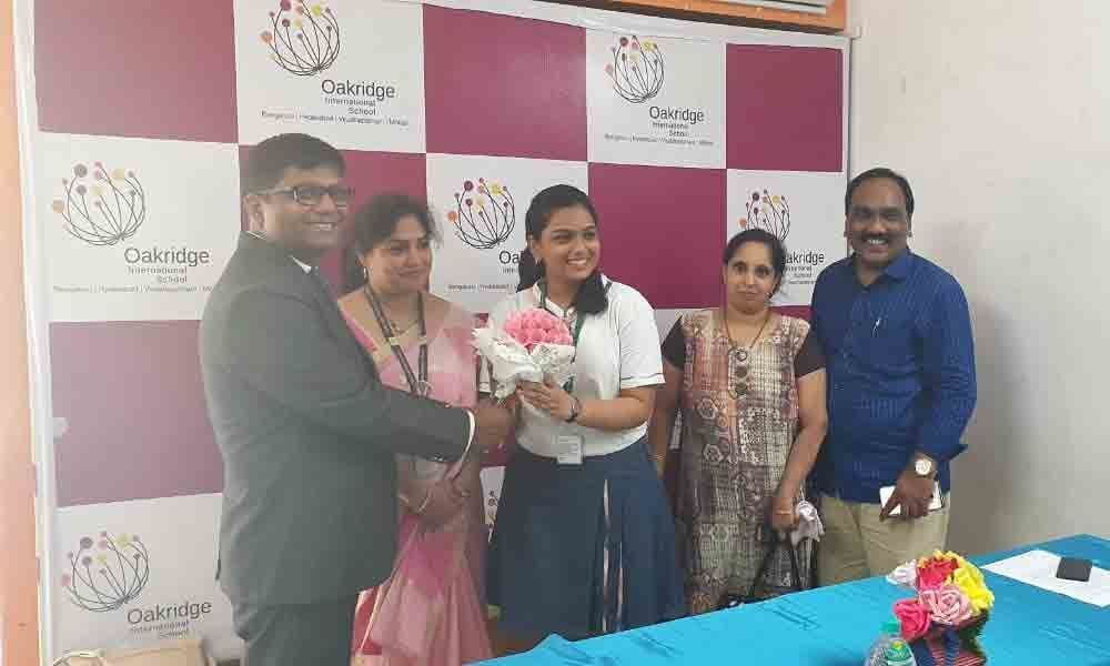 Oakridge students excel in CBSE exams