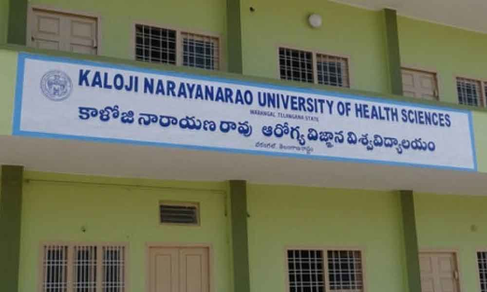 Medical admission : Final round of counselling in Kaloji University today
